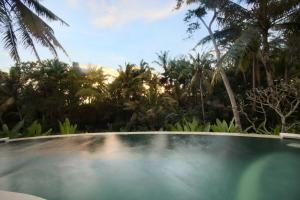Der Swimmingpool an oder in der Nähe von Lotus Villa Ubud