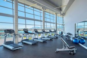 The fitness center and/or fitness facilities at The Westin Wall Centre, Vancouver Airport