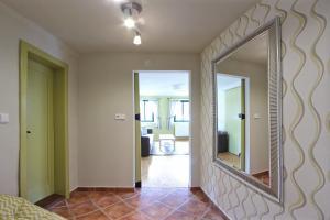 Posezení v ubytování Apartmány Milenium