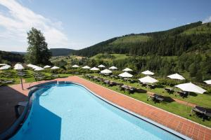 The swimming pool at or near Hotel Traube Tonbach