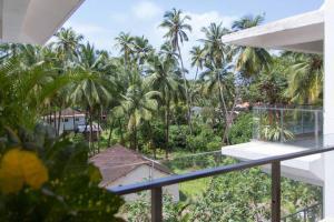 A porch or other outdoor area at La Quinta Arpora