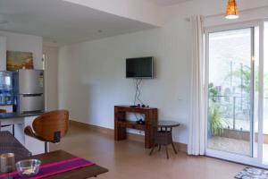 A seating area at La Quinta Arpora