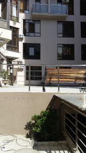 Патио или другая зона на открытом воздухе в Apartments na Prosvesheniya 147/1