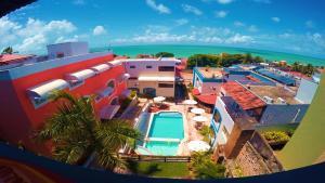 A bird's-eye view of Hotel Areia de Ouro