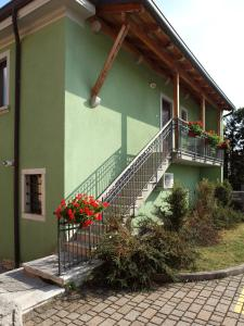 A porch or other outdoor area at Bed and Breakfast Malovec