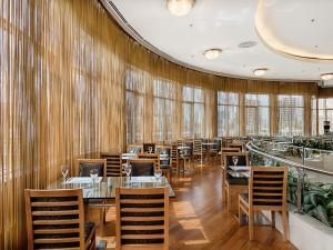 A restaurant or other place to eat at WOW Istanbul Hotel