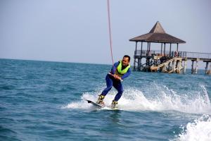 Guests staying at Turi Beach Resort