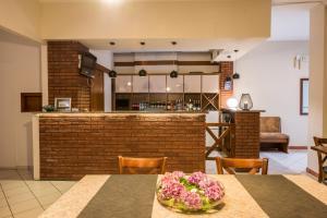 The lobby or reception area at Villa Castello