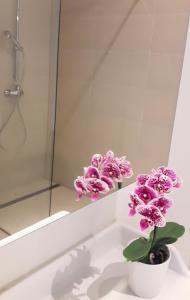 Salle de bains dans l'établissement Appartements Zieglergasse