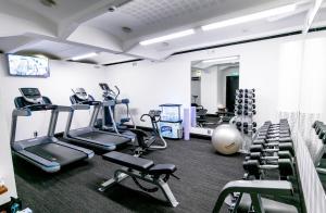 Centrum fitness w obiekcie Hotel F6