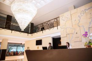 The lobby or reception area at Hotel Grand Park