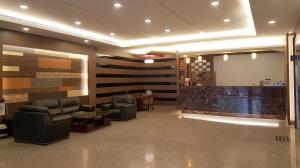山王大飯店酒吧或休息區