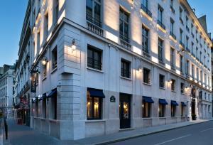 A fachada ou entrada em Hôtel Square Louvois