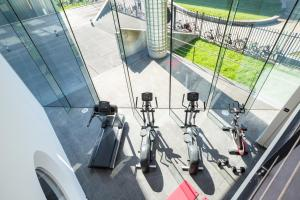 The fitness center and/or fitness facilities at Hotel2Stay