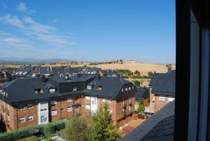 A general view of Villanueva del Pardillo or a view of the city taken from the condo hotel