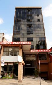 The facade or entrance of Hotel Piacenza