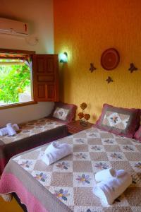 Um quarto em Pousada Frau Spring