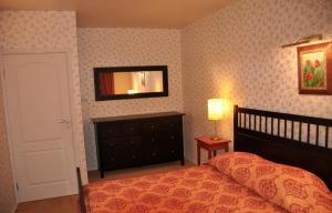 Кровать или кровати в номере Apartment Pion