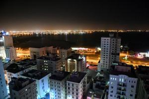 A bird's-eye view of Atiram Olaya Suites Hotel