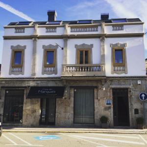 The facade or entrance of Casa do Marqués