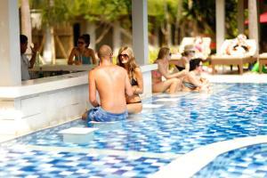 The swimming pool at or near Dewi Sri Hotel