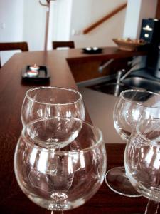 Příslušenství pro přípravu čaje a kávy v ubytování Klub Ifre