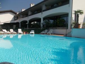 The swimming pool at or near Hotel Laura Christina