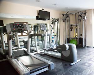 Palestra o centro fitness di Hotel Agorà