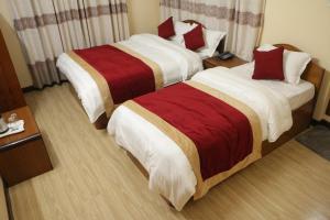A room at Hotel Bagmati