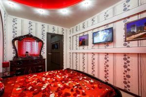 Телевизор и/или развлекательный центр в Apartment On Petrova 20