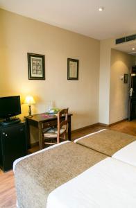 Una habitación en Los Cantaros
