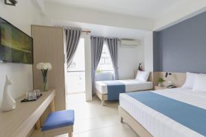 A room at Meraki Boutique Hotel- Bùi Viện Street