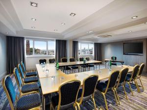 The business area and/or conference room at DoubleTree by Hilton Glasgow Central