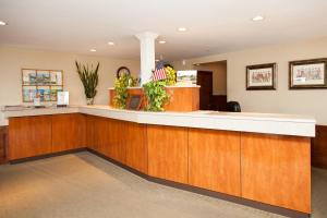 The lobby or reception area at Blue Rock Resort