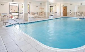 The swimming pool at or near Hampton Inn Shawnee