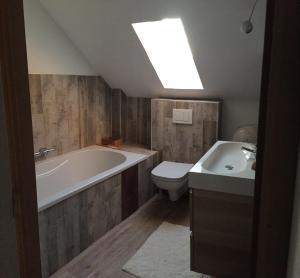 A bathroom at Les Arches