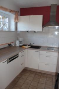 Küche/Küchenzeile in der Unterkunft Ferienwohnung Waltraud