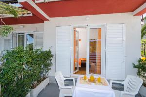 A patio or other outdoor area at Apartments Matana Chano