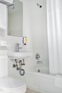 A bathroom at The Burrard