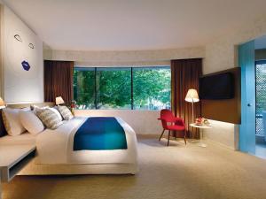 Ein Zimmer in der Unterkunft D'Hotel Singapore