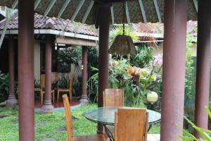 Salon ou bar de l'établissement Prambanan Guesthouse