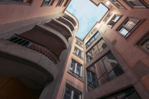 Balcon ou terrasse dans l'établissement Mercure Lyon Centre Beaux-Arts