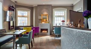مطعم أو مكان آخر لتناول الطعام في فندق بارك بيرغن