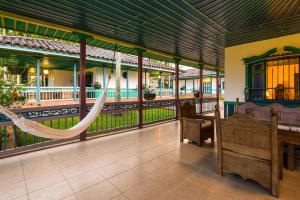 The lounge or bar area at Decameron Las Heliconias - All Inclusive