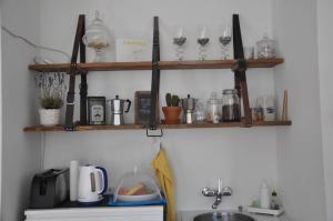 Küche/Küchenzeile in der Unterkunft B&B im Herzen von Biel