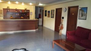 The lobby or reception area at Albergo Boccaccio