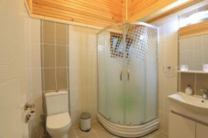 A bathroom at Turnalı Bungalow