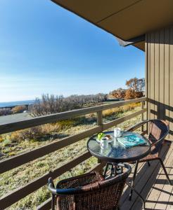 Ein Balkon oder eine Terrasse in der Unterkunft Far View Lodge
