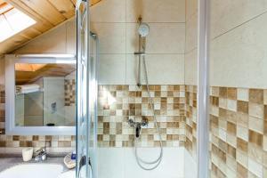 Ванная комната в Vershina Mini-hotel