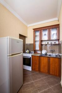Кухня или мини-кухня в Nick&David INN